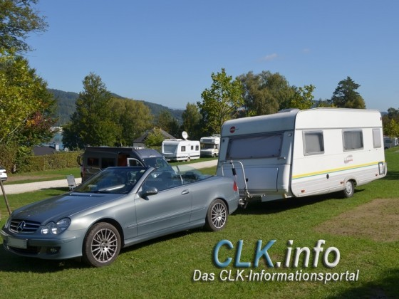 Camping oben ohne